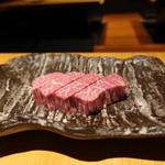 牛肉専門 ぶんご牛肉店 - ☆肉厚のフィレ肉は大満足(^u^)☆