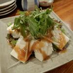つどい家 - 豆腐サラダ