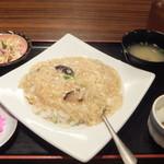 87987203 - フカヒレ炒飯定食