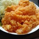 山奈食堂 - チキンライスのアップ