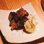 味のなかむら - 牛舌のしぐれ煮とマスカルポーネ