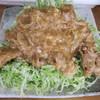 光楽亭 - 料理写真:タマゴ入り肉ショーガヤキ