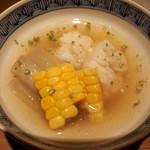 黒門町 紋屋 - 鱧、ダツ、玉蜀黍の煮物