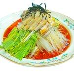 北京 - 冷やしピリ辛!一度においしいバンバンジー&タンタン麺