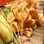 いざか屋 若蔵 - ササミ炙り刺