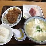 あやぐ食堂 - 料理写真:ゆし豆腐定食