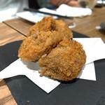 日本のお酒と馬肉料理 うまえびす - 馬肉メンチカツ