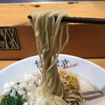 87992712 - 【2018.6.17】食べある記の中加水細麺。