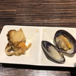 くつろぎダイニング 桃源郷 - 料理写真:お通しが魚介なのもGood!