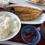 ひもの食堂 - 塩サバ