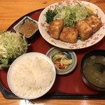 一休庵 - 料理写真:豆腐カツ定食 750円