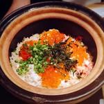 味のなかむら - ずわい蟹といくらの土鍋ごはん