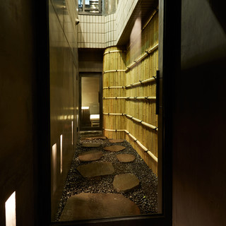 ハナレの個室
