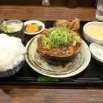 華や - 土鍋麻婆豆腐セット