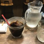 カオス スパイスダイナー - 食後のアイスコーヒー
