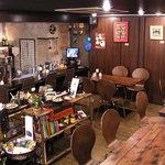 ドゥニヤ - Jazz,Bossa,R&Bなどが流れる店内で、ゆったりとおくつろぎ下さい。カフェ使いもOKです。