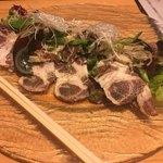 88001311 - * 自家製イベリコ塩豚と香味野菜のサラダ 1,800円
