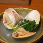 活鰻の店 つぐみ庵 - ハマグリの酒蒸し