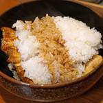 活鰻の店 つぐみ庵 - 間蒸し(まむし)