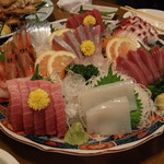 居酒屋 仲ちゃん - 料理写真:刺身盛合せ5人前 5,529円