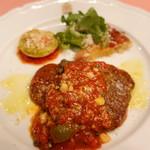 ピッツェリア・サバティーニ - 和牛ランプ肉のピツアイオーラ