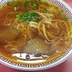 中華そば しだはら - 料理写真:中華そば(中)