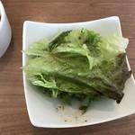 カグラ - セットのサラダ