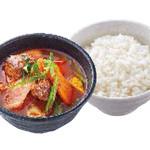 カルビスープ + ごはんセット