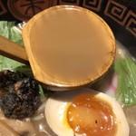 八べえ - 鰻ラーメンスープ