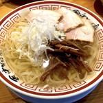 田中そば店 - 冷かけ中華そば(850円)