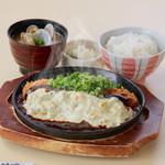 かつ時 - 鉄板タルタル味噌かつ定食