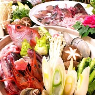 魚醤が効いた名物あり!新鮮な日本海産魚介たっぷりの【鍋料理】