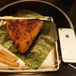 海鮮問屋 吾作どん - 焼きおにぎり(380円)