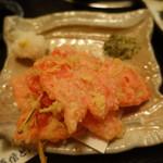 海鮮問屋 吾作どん - 紅しょうが天(380円)