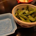海鮮問屋 吾作どん - 黒枝豆(280円)