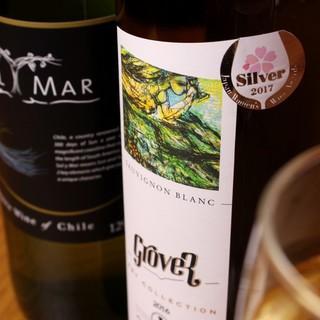 屋台気分で楽しむお酒◎本場の味をワイン・ウィスキー迄ご用意!
