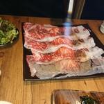 88021716 - 極上大判炙り寿司 バーナーで炙りの演出