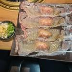 88021718 - 極上大判炙り寿司 とろけた脂がウマっ❕