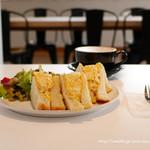 アルファ・ベータ・コーヒー・クラブ - たまごサンドモーニング