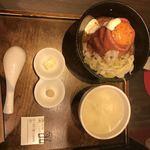 ローストビーフ大野 - 定食内容