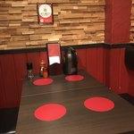 ローストビーフ大野 - テーブル