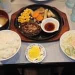 88023251 - サービス定食・ハンバーグ 700円