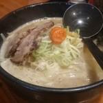 北海道ラーメン 追風丸 - 白味噌ラーメン750円
