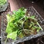 レストラン キモト - サラダ 美味しいドレッシング