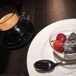 レストラン キモト - ドリンクとデザートセット 500円