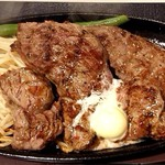 1ポンドのステーキハンバーグ タケル - プレミアムチャックアイステーキ♪       レギュラーサイズ(250g)