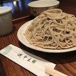 遊登里庵 - 蕎麦アップ