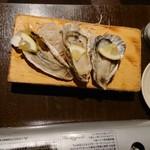 個室×海鮮 海鮮炉端 産地直送北海道 - 生牡蠣