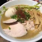 蒼 - 料理写真:鶏そば 全部のせ 1,000円