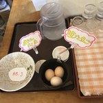 せんしゅう - 今日は卵サービの日だって